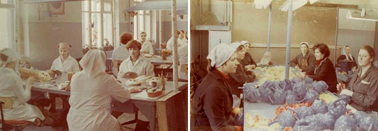 работа фабрики в 80-х годах